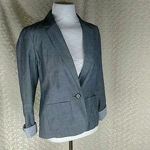 🌻🌼 Gap size 2 Lined single breast blazer
